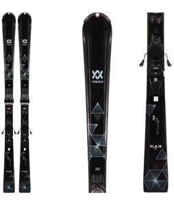 Volkl Flair 72 Skis w/ V-Motion 10 GW Bindings