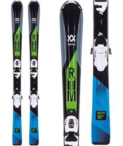 Volkl Rtm Jr Skis w/ 7.0 Vmotion Jr Bindings