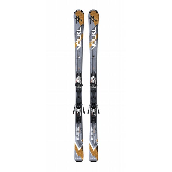 Volkl Unlimited Ac Skis W / Motion Tt 10 0 D Bindings Sil / Blk U.S.A. & Canada