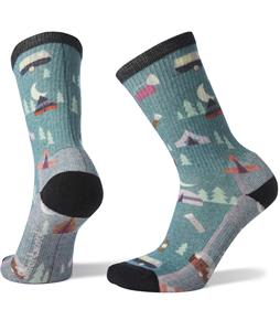 Smartwool Hike Light Summer Nights Print Crew Socks