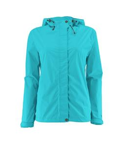 White Sierra Trabagon Shell Extended Sizes Rain Jacket