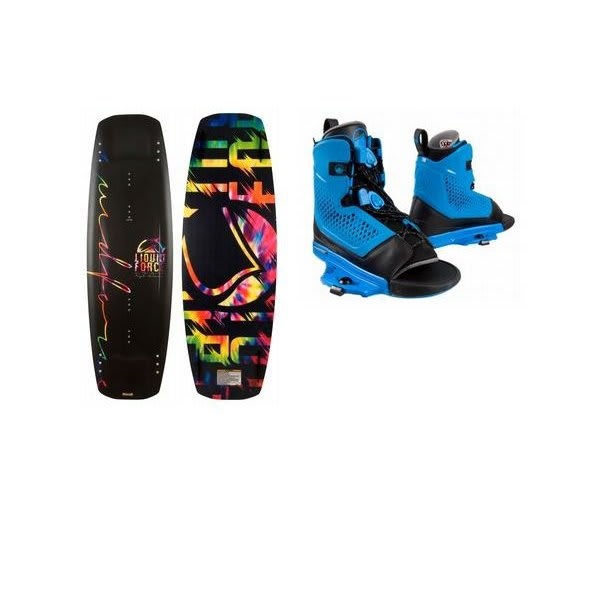 Liquid Force Flx Wakeboard W / Liquid Force Ultra Ot Bindings U.S.A. & Canada