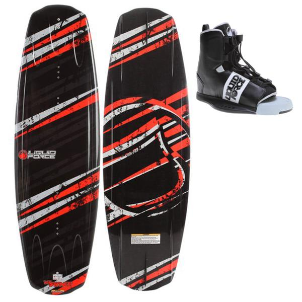 Liquid Force Stance Wakeboard W / Element Bindings U.S.A. & Canada