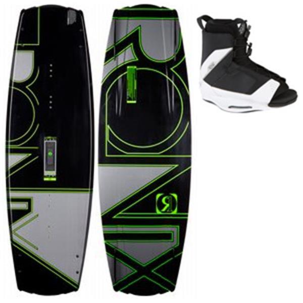 Ronix Viva Modello Wakeboard W / Ronix Viva Wakeboard Bindings Black / Whites U.S.A. & Canada