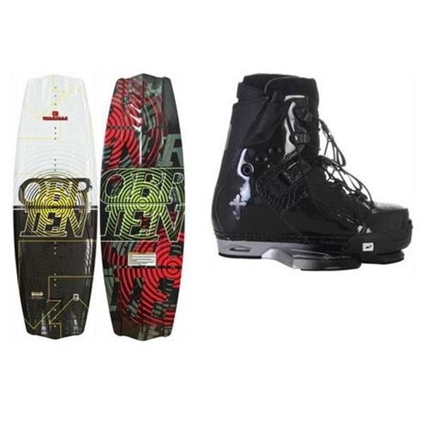 O' Brien Valhalla Wakeboard 127 W / Gator Boards Gator Limited Wakeboard Bindings U.S.A. & Canada