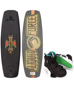 Liquid Force Deluxe Wakeboard w/ Vantage CT Bindings