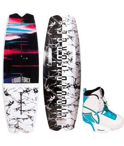 Liquid Force Remedy FT Wakeboard w/ Harley Bindings