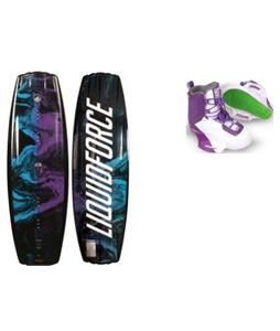 Liquid Force Me Wakeboard w/ Team Bindings
