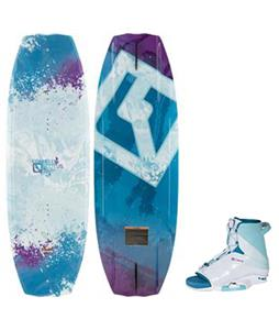 CWB Lotus Wakeboard w/ Karma Bindings