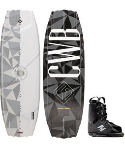 CWB Dowdy Wakeboard w/ Hyperlite Frequency Bindings
