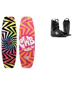 CWB Jive Wakeboard w/ Hyperlite Frequency Bindings