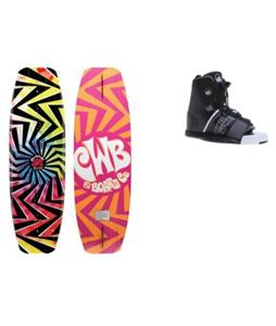 CWB Jive Wakeboard w/ Liquid Force Element Bindings