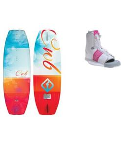 CWB Lotus Wakeboard w/ Liquid Force Alpha Bindings