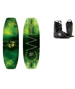 CWB Triax Wakeboard w/ Hyperlite Frequency Bindings