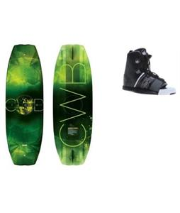 CWB Triax Wakeboard w/ Liquid Force Element Bindings