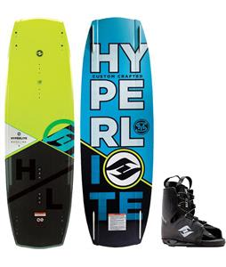 Hyperlite Baseline Blem Wakeboard w/ Frequency Bindings