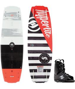 Hyperlite Franchise Blem Wakeboard w/ Frequency Bindings