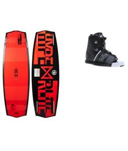 Hyperlite Marek Bio Wakeboard w/ Liquid Force Element Bindings