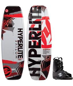 Hyperlite Motive Wakeboard w/ Frequency Bindings