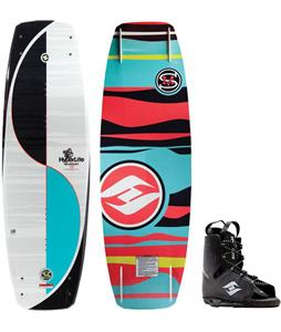 Hyperlite Murray Blem Wakeboard w/ Frequency Bindings
