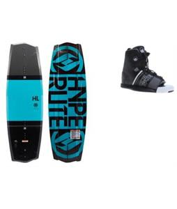 Hyperlite State 2.0 Blem Wakeboard w/ Liquid Force Element Bindings