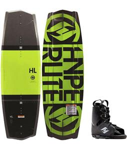 Hyperlite State 2.0 Yellow Wakeboard w/ Frequency Bindings
