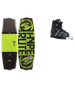 Hyperlite State 2.0 Yellow Wakeboard w/ Liquid Force Element Bindings