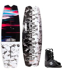 Liquid Force Remedy FT Wakeboard w/ Hyperlite Frequency Bindings