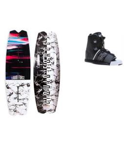 Liquid Force Remedy FT Wakeboard w/ Element Bindings