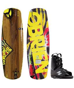 O'Brien Breddas Wakeboard w/ Hyperlite Frequency Bindings