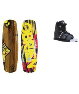 O'Brien Breddas Wakeboard w/ Liquid Force Element Bindings