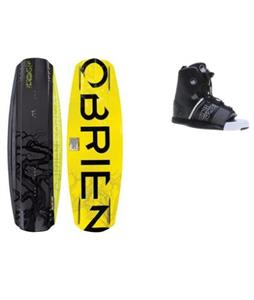 O'Brien Format Wakeboard w/ Liquid Force Element Bindings