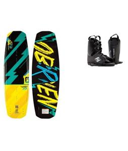 O'Brien Fremont Wakeboard w/ Hyperlite Frequency Bindings