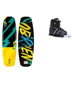 O'Brien Fremont Wakeboard w/ Liquid Force Element Bindings