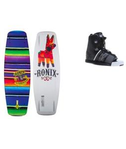 Ronix Bandwagon Camber ATR Wakeboard w/ Liquid Force Element Bindings