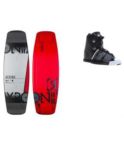 Ronix Bandwagon Camber Wakeboard w/ Liquid Force Element Bindings