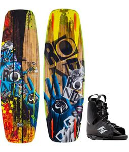Ronix Bill Mute Core Wakeboard w/ Hyperlite Frequency Bindings