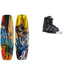 Ronix Bill Mute Core Wakeboard w/ Liquid Force Element Bindings