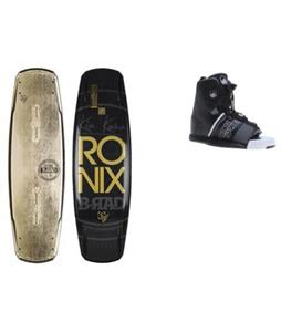 Ronix B-Rad Bandwagon Wakeboard w/ Liquid Force Element Bindings
