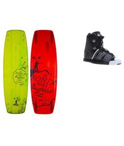 Ronix District Park Wakeboard w/ Liquid Force Element Bindings