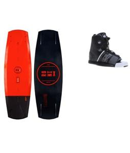 Ronix Parks Modello Blem Wakeboard w/ Liquid Force Element Bindings