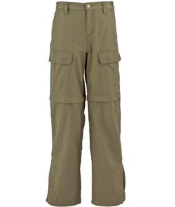 White Sierra Trail Convertible Hiking Pants