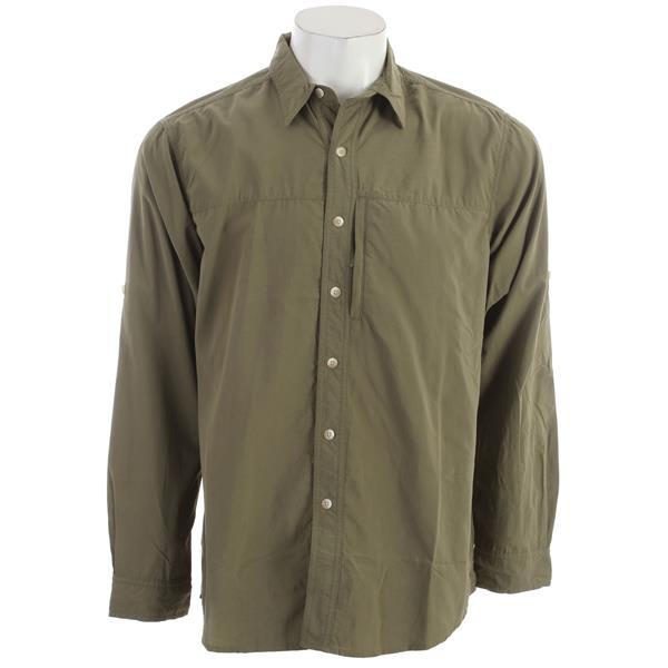 White Sierra Swamp L / S Shirt New Sage U.S.A. & Canada