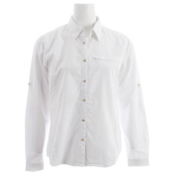White Sierra Swamp L / S Shirt White U.S.A. & Canada