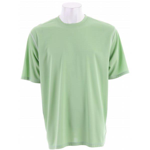 White Sierra Swamp Crew Shirt Spruce Green U.S.A. & Canada