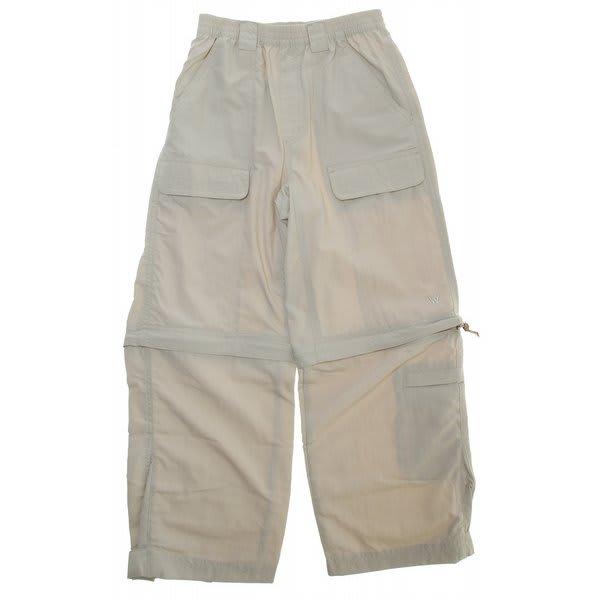White Sierra Trail Convertible Pants U.S.A. & Canada