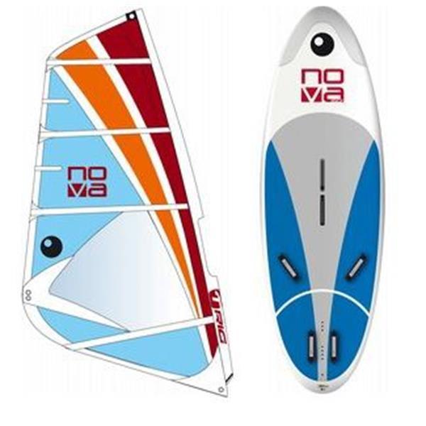 Bic Nova Windsurf Board 160D W / Bic Nova Rig 5 5M U.S.A. & Canada
