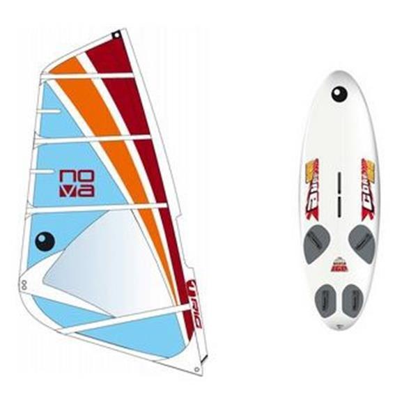 Bic Core Windsurf Board 160D W / Bic Nova Rig 5 5M U.S.A. & Canada