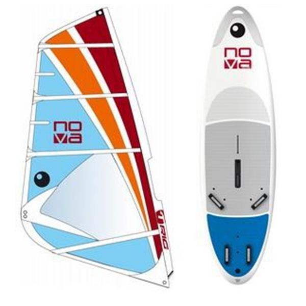 Bic Nova Windsurf Board 205D W / Bic Nova Rig 5 5M U.S.A. & Canada