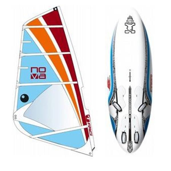 Starboard Go Windsurf Board 151L W / Bic Nova Rig 4 5M U.S.A. & Canada